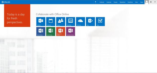 Office 365 Start Page