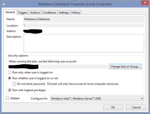TaskScheduler DAG Rebalance 2