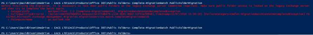 Public Folder migration error